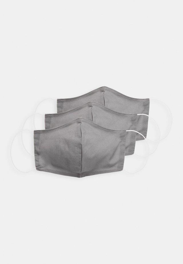 3 PACK - Stoffmaske - grey