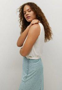 Violeta by Mango - A-line skirt - wassergrün - 3