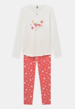 STAR PRINT - Pyjama set - marshmallow/peachy
