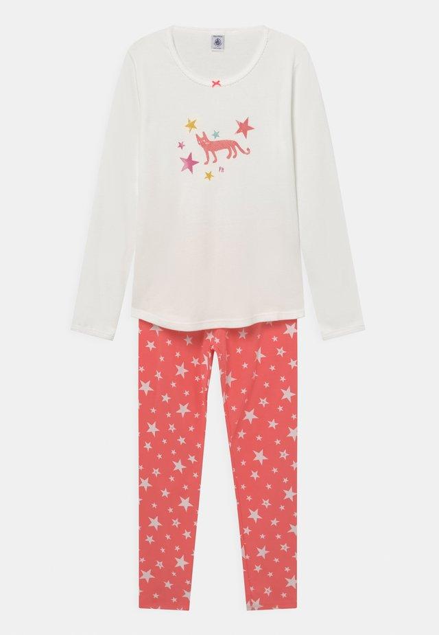 STAR PRINT - Pyjama - marshmallow/peachy