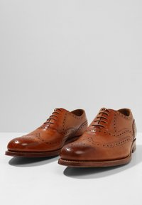 Grenson - DYLAN - Smart lace-ups - tan handpainted - 2