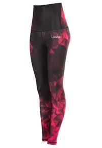 Winshape - HWL102 BRILLIANT HIGH WAIST - Leggings - ruby - 4
