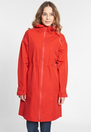 FUTURE TRAVEL 2.0 - Waterproof jacket - racing red