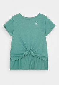 Abercrombie & Fitch - Jednoduché triko - brittany blue - 0