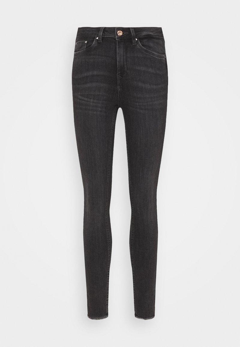TOM TAILOR DENIM - JONA - Jeans Skinny Fit - used mid stone grey denim