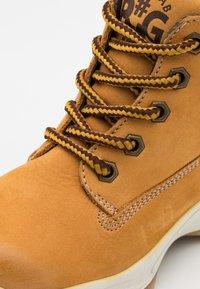 Primigi - UNISEX - Lace-up ankle boots - senape/testa di moro - 5