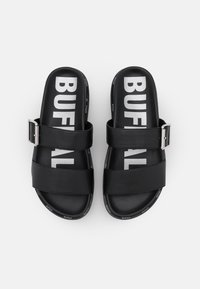 Buffalo - VEGAN RAYA - Mules - black - 5
