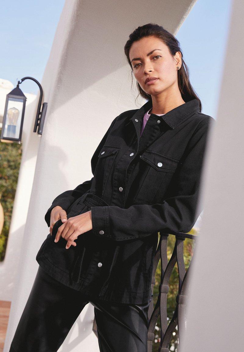 Next - Denim jacket - grey