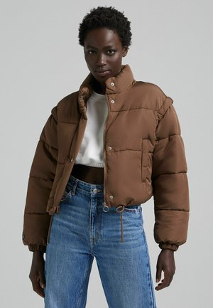 PUFF 06575644 - Winter jacket - brown