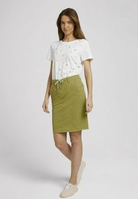 TOM TAILOR - Pencil skirt - gecko green - 1