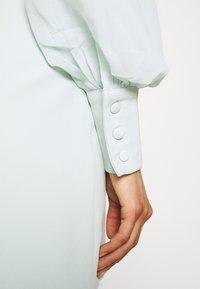 Missguided - SLEEVE BLAZER DRESS - Shirt dress - mint - 3