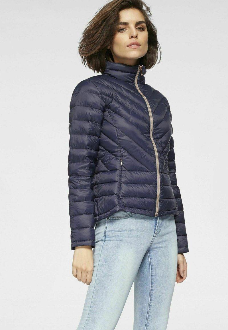 Tamaris - Down jacket - dunkelblau