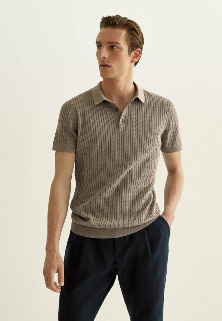 Massimo Dutti - Polo shirt - brown