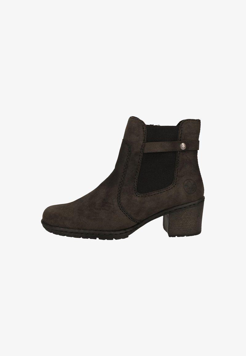 Rieker - Korte laarzen - anthracite/black