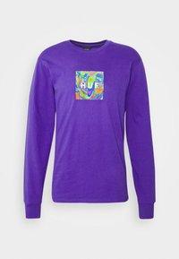 HUF - ACID HOUSE TEE - Long sleeved top - purple - 3