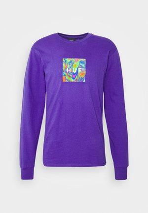 ACID HOUSE TEE - Long sleeved top - purple
