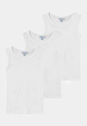 3 PACK UNISEX - Undershirt - brilliant white