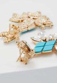 Anton Heunis - Pendientes - turquoise/gold-coloured - 2