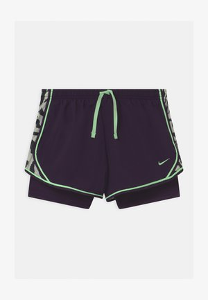 DRY TEMPO  - Sports shorts - grand purple/vapor green