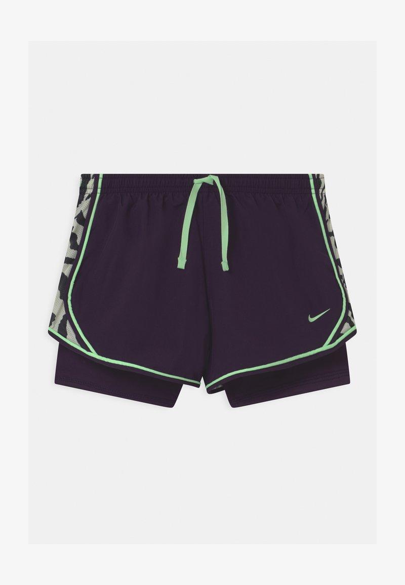 Nike Performance - DRY TEMPO  - Sports shorts - grand purple/vapor green