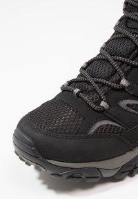 Merrell - MOAB 2 MID GTX - Hiking shoes - black - 5