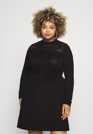VMMALENA SHORT DRESS - Jumper dress - black