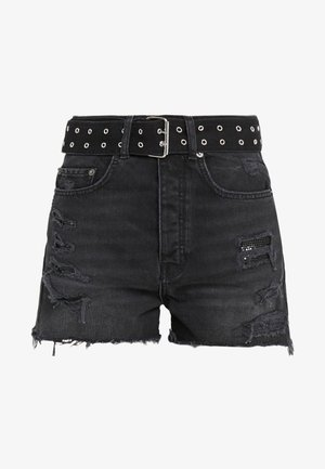 Shorts vaqueros - black washed