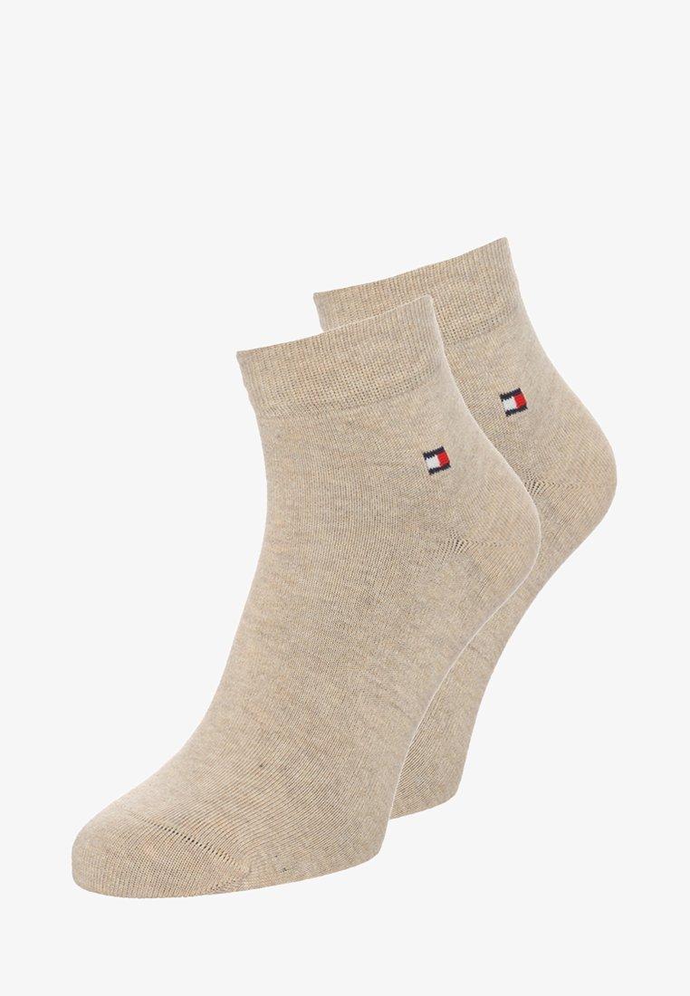 Tommy Hilfiger - MEN QUARTER 2 PACK - Socks - light beige melange