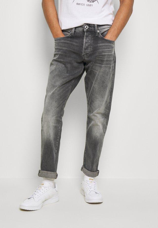 3301 STRAIGHT TAPERED - Straight leg jeans - grey denim
