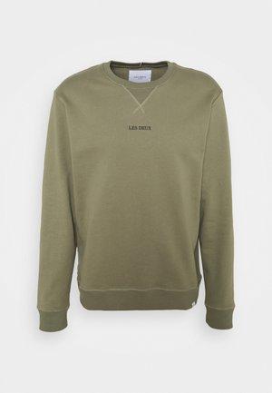 LENS - Sweatshirt - lichen green/black
