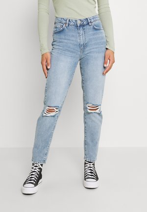 DAGNY MOM  - Relaxed fit jeans - sea blue