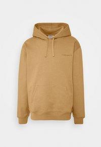 Carhartt WIP - HOODED ASHLAND - Jersey con capucha - dusty brown - 4