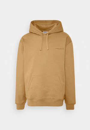 HOODED ASHLAND - Hoodie - dusty brown