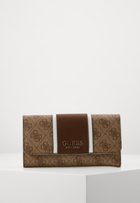 Guess - CATHLEEN POCKET TRIFOLD - Wallet - brown - 1