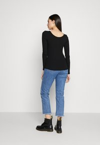 PIECES Tall - PCKITTE - Long sleeved top - black - 2