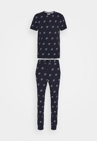 Jack & Jones - JACJASON SET - Pyjamas - maritime blue - 4