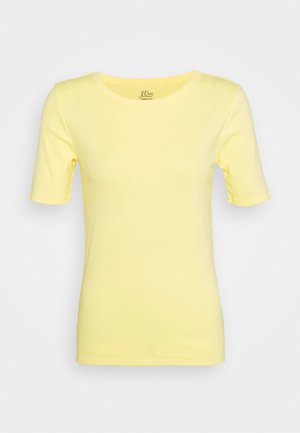 CREWNECK ELBOW SLEEVE - T-shirts basic - vintage citrus
