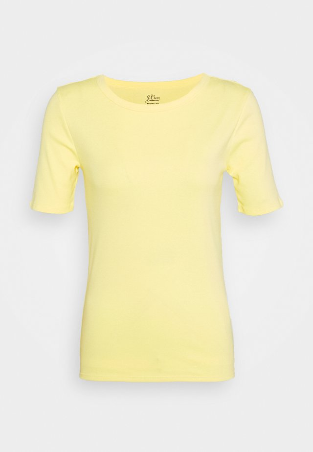 CREWNECK ELBOW SLEEVE - T-shirt basic - vintage citrus