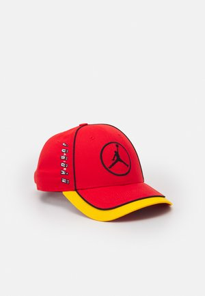 AIR CAP UNISEX - Gorra - chile red/university gold/white/black