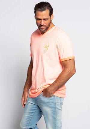 Basic T-shirt - neon-orange