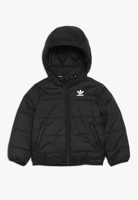 adidas Originals - JACKET - Winter jacket - black/white - 0