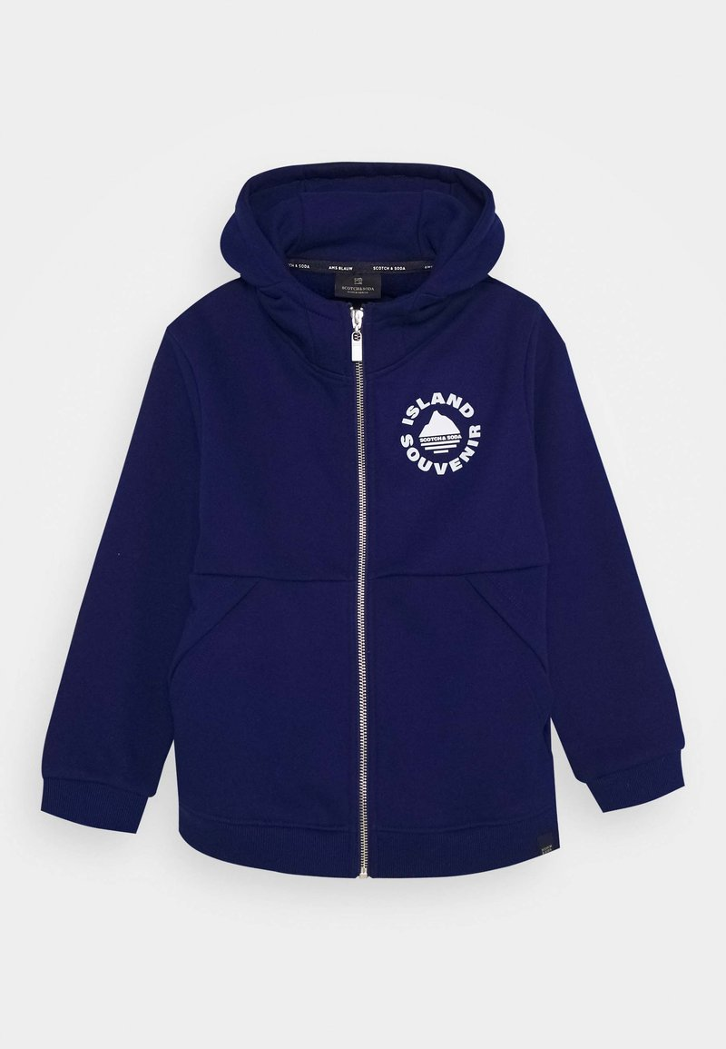 Scotch & Soda - Zip-up hoodie - yinmin blue