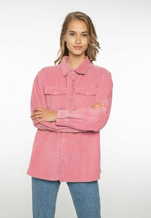 NINA - Button-down blouse - pink tulip