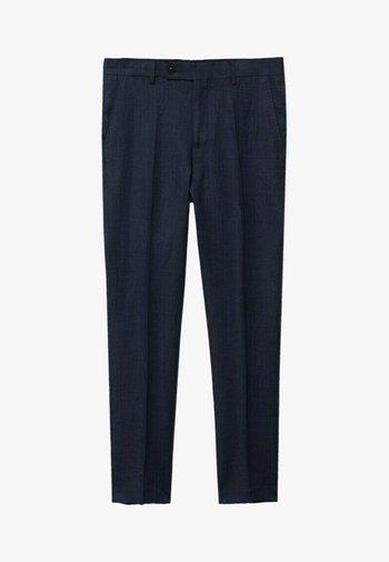 FLORIDA - Pantaloni eleganti - dunkles marineblau