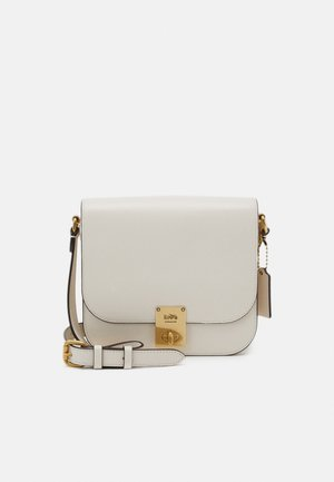 BOX HUTTON SADDLE BAG - Across body bag - chalk