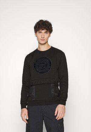 BAZOR BRUSH BACK - Sweatshirt - black