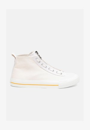 S-ASTICO MZIP - High-top trainers - white/yellow