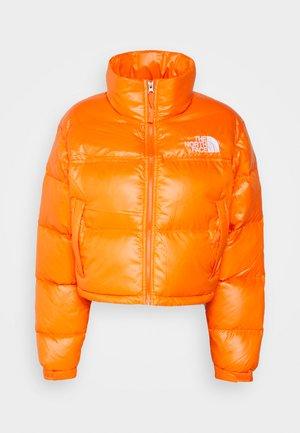 SHORT JACKET - Down jacket - red orange