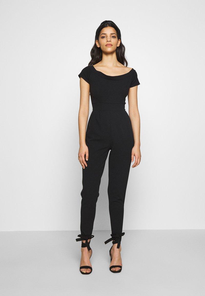 WAL G PETITE - BARDOT - Jumpsuit - black