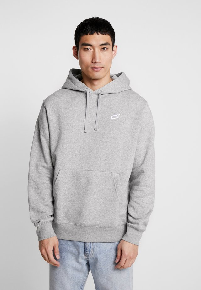 Club Hoodie - Sweat à capuche - grey heather/matte silver/white